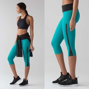 Lululemon Smooth Stride Crop Legging